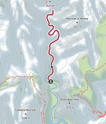 Map / Hike: Zion Narrows (longer Zion option)