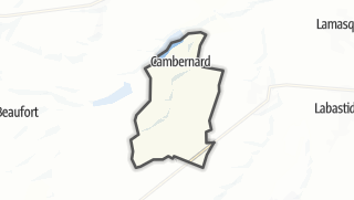 Térkép / Cambernard