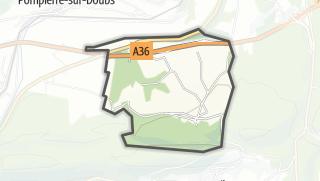 Mapa / Saint-Georges-Armont