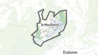 Mapa / Le Moutherot