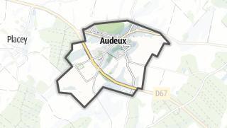 Térkép / Audeux