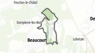 Mapa / Badevel