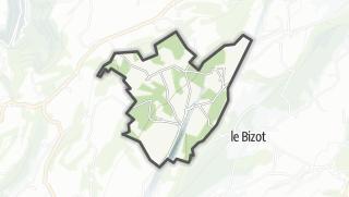 Térkép / La Bosse