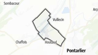Mapa / Dommartin