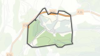 Mapa / L'Hôpital-Saint-Lieffroy