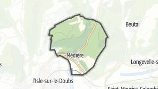 Térkép / Médière