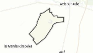 Mapa / Nozay