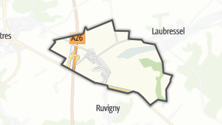 Mapa / Thennelières