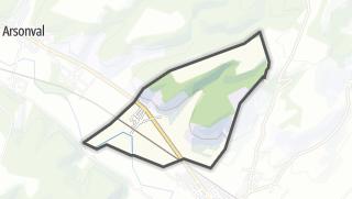 Mapa / Ailleville