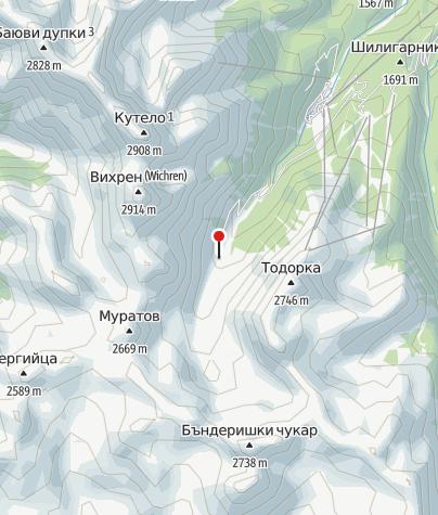 Karte / Vihren Hütte