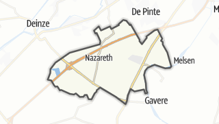 Mapa / Nazareth