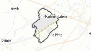 Kartta / Sint-Martens-Latem