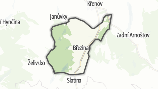 Mapa / Březina