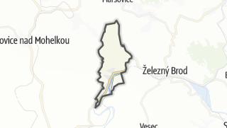 Karte / Malá Skála