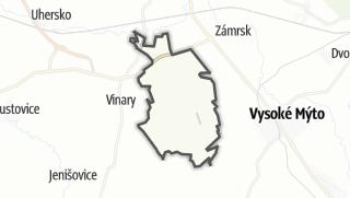 Hartă / Vraclav