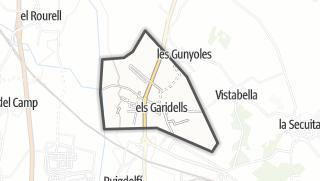 地图 / els Garidells
