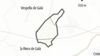 地图 / la Nou de Gaià