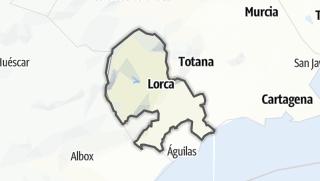 Térkép / Lorca