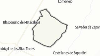 Mapa / Moraleja de Matacabras