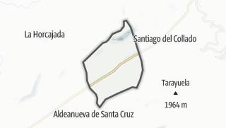 Mapa / La Aldehuela
