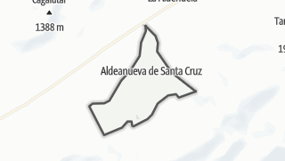Mapa / Aldeanueva de Santa Cruz