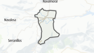 Mapa / Burgohondo