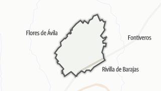 Mapa / Muñosancho