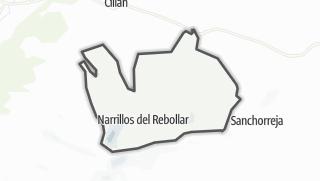 Mapa / Narrillos del Rebollar