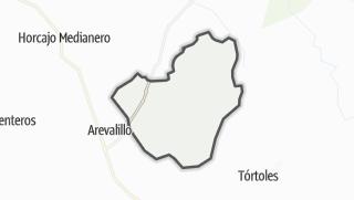 Mapa / Zapardiel de la Cañada