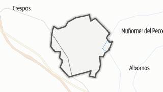 Mapa / Viñegra de Moraña