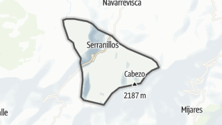 Mapa / Serranillos