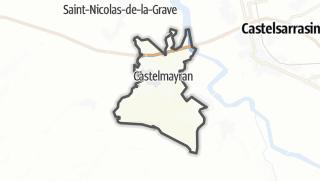 Карта / Castelmayran
