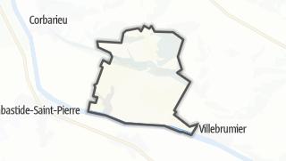 Карта / Reyniès
