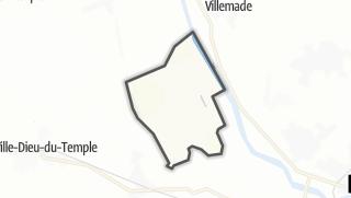 Карта / Albefeuille-Lagarde