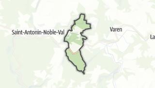 Карта / Féneyrols
