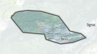 Térkép / Binos