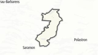 Карта / Tirent-Pontéjac