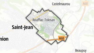 Térkép / Rouffiac-Tolosan
