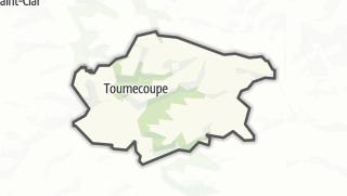 Карта / Tournecoupe