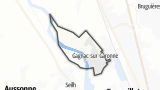 Térkép / Gagnac-sur-Garonne