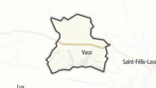 Térkép / Vaux
