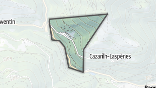 Térkép / Trébons-de-Luchon