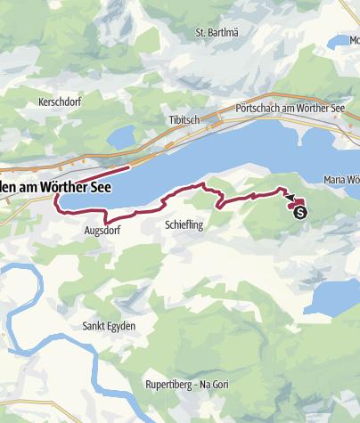 Karte / Herbst Genusswanderung