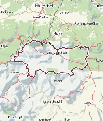 Map / K24- Koroška Hill Challenge