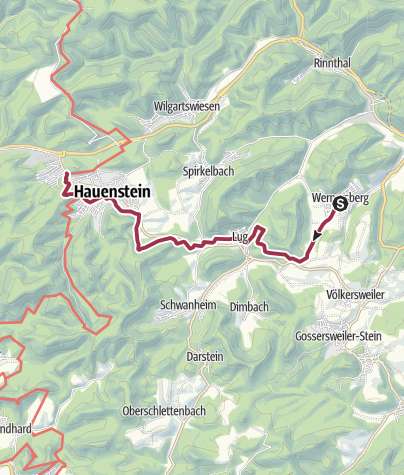 Karte / 04 Annweiler - Von Platz 4 zu Platz 15