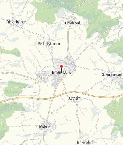 Unterfranken Karte.Hofheim In Unterfranken Tourist Information Outdooractive Com