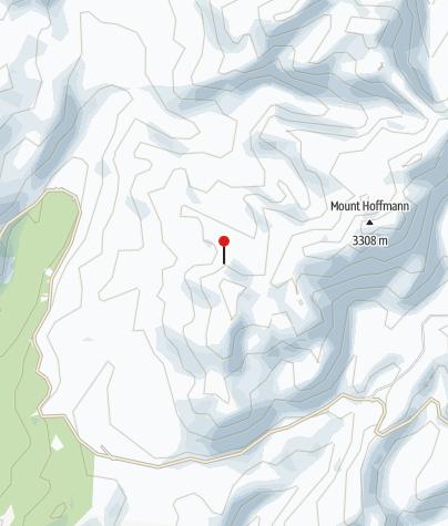 Map / Yosemite Half Dome Backpacking Trip