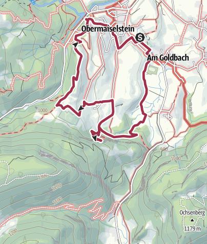 Karte / Entdecker - Tour durch den Sagenwald zur Sturmannshöhle