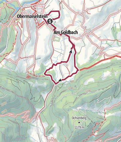 Map / Entdeckertour auf die Spöck und zum Hirschsprung