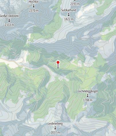 Karte / Ebner Alm 1266m (Winter)
